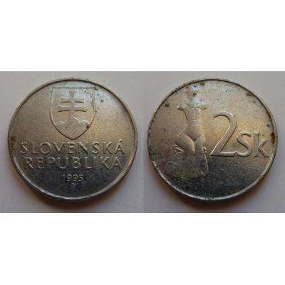 Slovensko - 2 koruny 1995