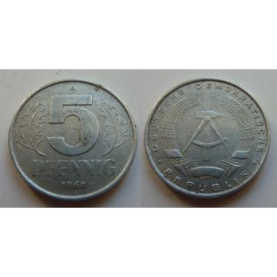 5 Pfennig 1968 A