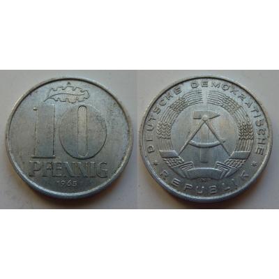 NDR - mince 10 Pfennig 1968 A