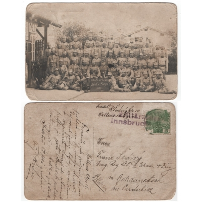 Postcards: World War I: The Czech soldiers in the War 1915