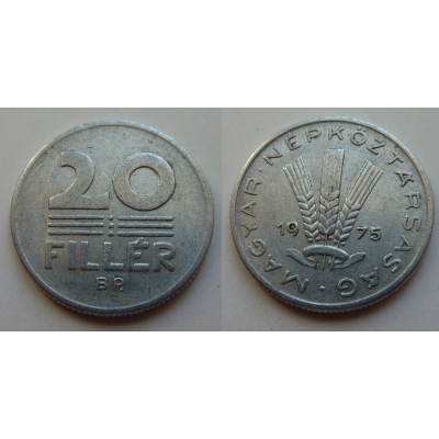 Maďarsko - mince 20 fillér 1975