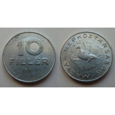 Maďarsko - mince 10 fillér 1974