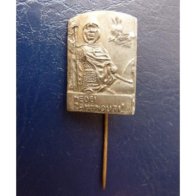 Svatý Václav - Nedej zahynouti, odznak jehla první republika