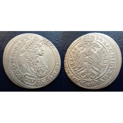 XV krejcar 1694 MMW