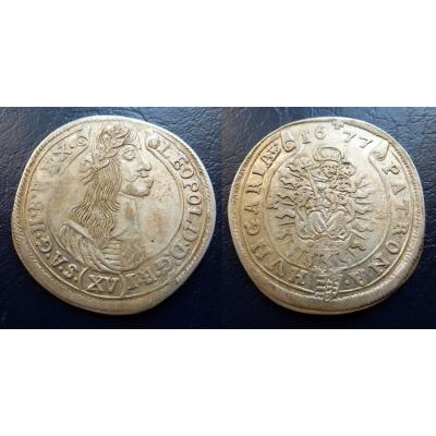 XV krejcar 1677 KB