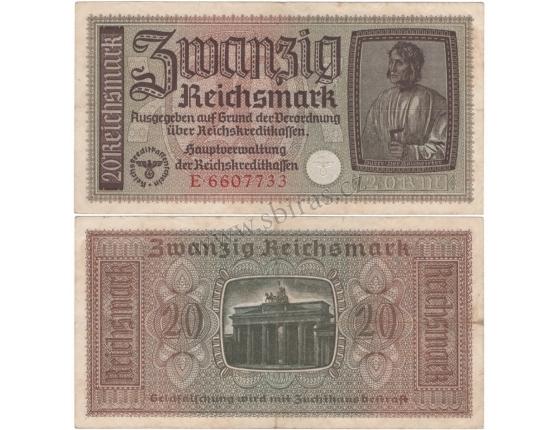 20 Reichsmark 1938-1945