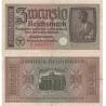 Německo - bankovka 20 Reichsmark 1938-1945