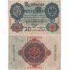 Německo - bankovka Reichsbanknote 1914