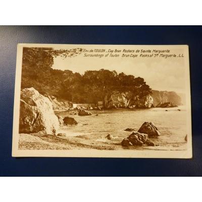 Francie - pohlednice Toulon 1928