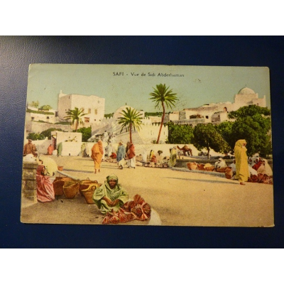 Afrika - pohlednice Maroko, Safi - Vue de Sidi Abderhaman 1928