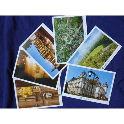Bílsko-Bělá - soubor pohlednic