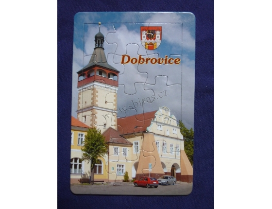 Dobrovice - puzzle pohled