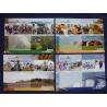 Vysočina - soubor pohlednic roční období 4ks