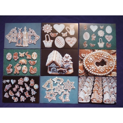 Perník - soubor pohlednic