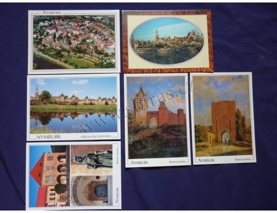 Nymburk - soubor pohlednic
