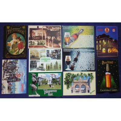 Pivo - soubor pohlednic