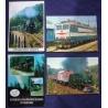 Vlaky - soubor pohlednic