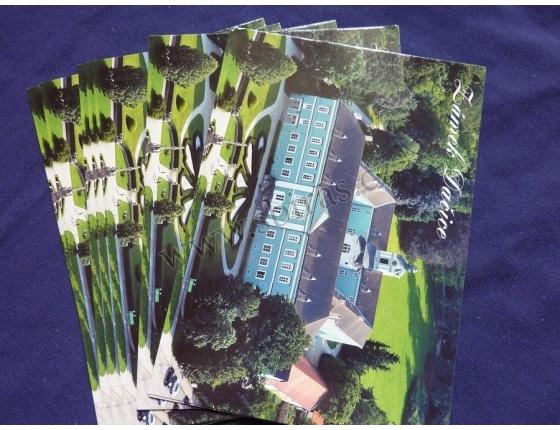 Zámek Dačice - pohlednice