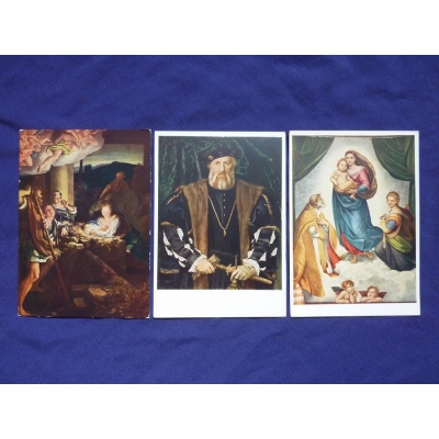 Drážďany - soubor pohlednic