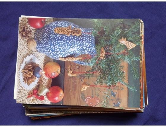 Konvolut pohlednic 100 kusů Vánoce