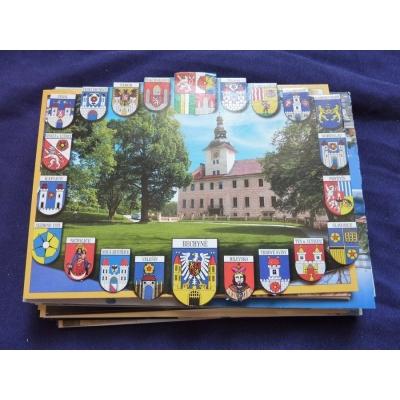 Československo - 50x pohlednice místopis, nepopsaná