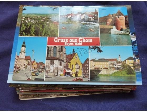 Konvolut pohlednic - 50 kusů místopis Evropa