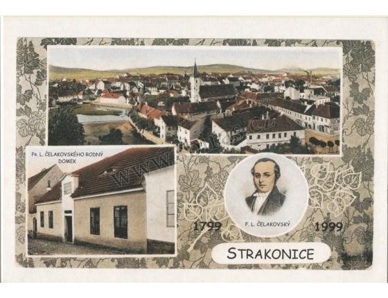 Strakonice - pohlednice reprint