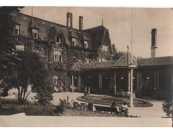 Rumburk - léčebný ústav Podhájí 1959 - pohlednice černobílá
