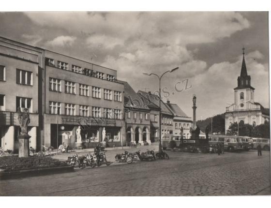 Nová Paka - náměstí Klementa Gottwalda