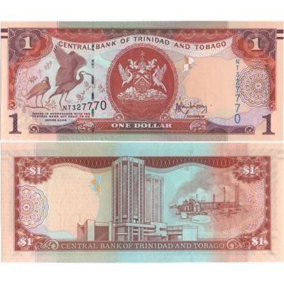 Trinidad a Tobago - bankovka 1 dolar 2006 UNC