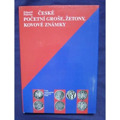 České početní groše, žetony, kovové známky