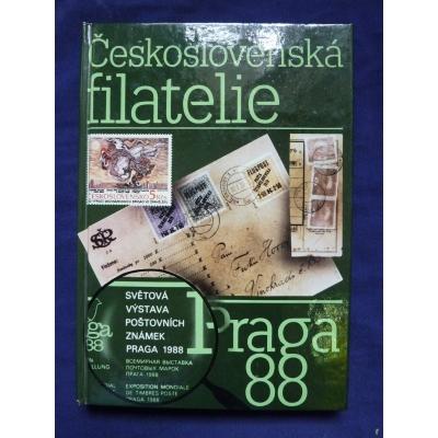 Praga 88 - barevný katalog světové výstavy známek