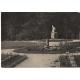 Rumburk, park rumburské vzpoury 1960 - pohlednice černobílá