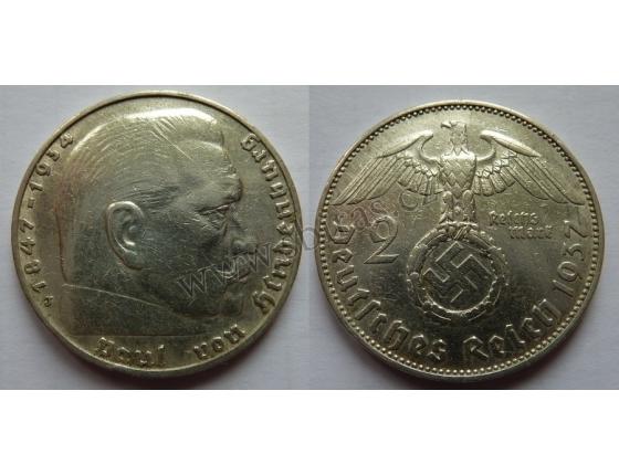 Německá říše - 2 marky 1937
