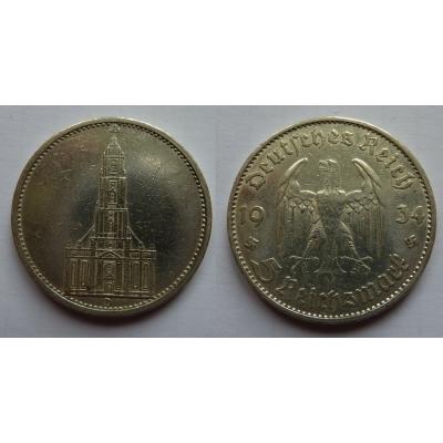 Německá říše - 5 marek 1934