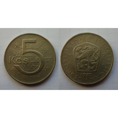 5 korun 1970