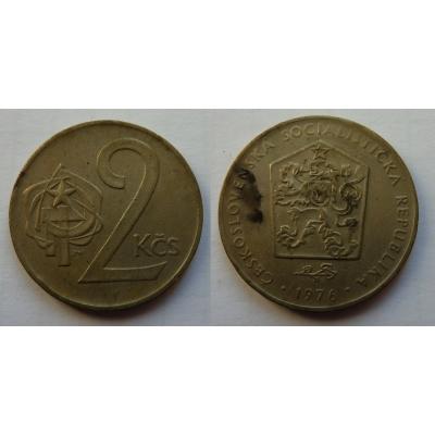 2 koruny 1976