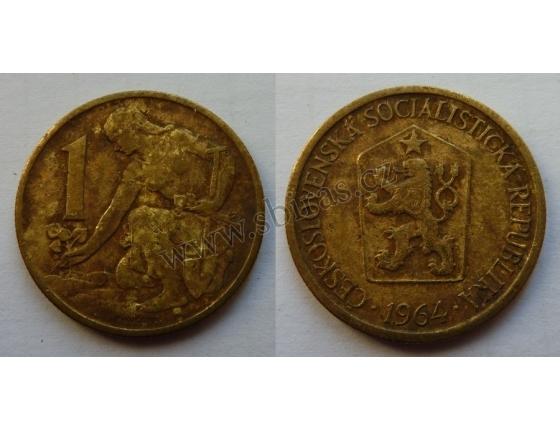 1 koruna 1964