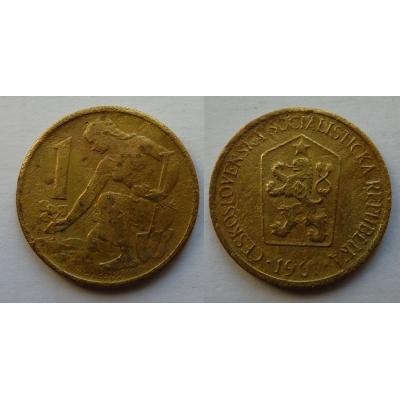 1 koruna 1961