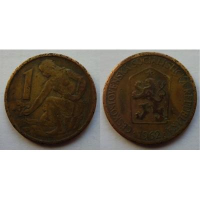 1 koruna 1962