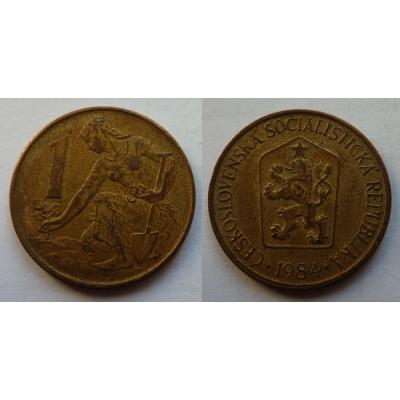 1 koruna 1984