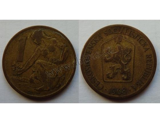 1 koruna 1968