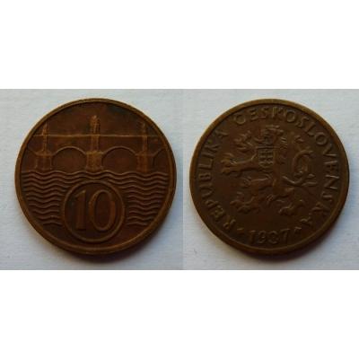 10 haléřů 1937