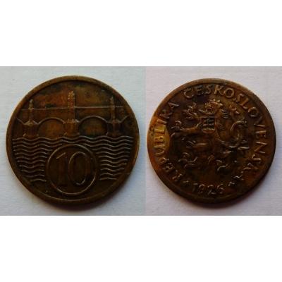 10 haléřů 1926