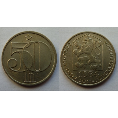 50 haléřů 1984