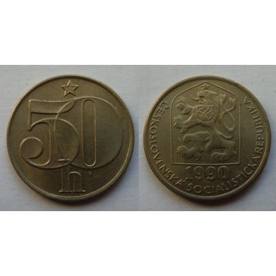 50 haléřů 1990