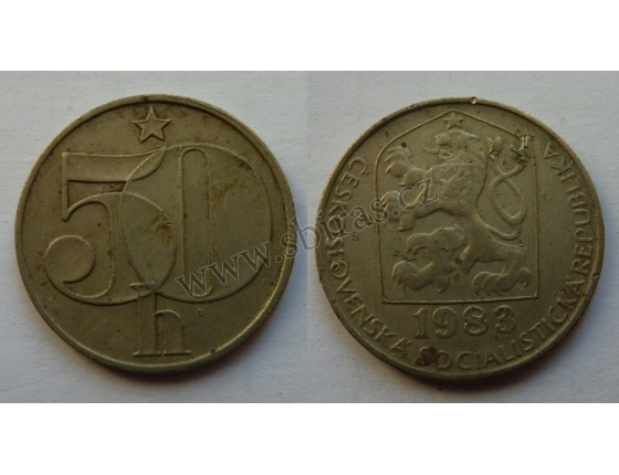 50 haléřů 1983