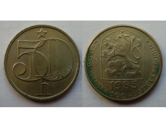 50 haléřů 1985