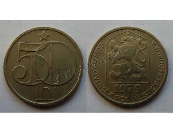 50 haléřů 1979