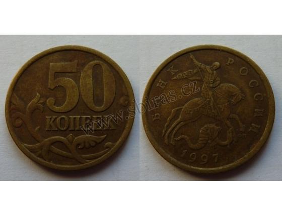 Ruská federace - 50 kopějek 1997 CL